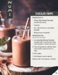 Numi Chocolate Frappe Recipe