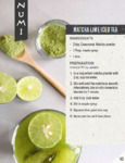 Numi Matcha Lime Iced Tea Recipe