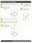 Open Base Table Assembly