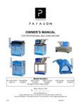 Paragon Snow Cone Machine Manual