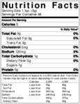 Pilsudski Polish Style Horseradish Nutrition InformationMustard