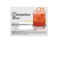 Pompelmo Sour Recipe