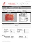 Fontana Ermes Thin Sliced Prosciutto Crudo Nutrition Information