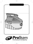 ProTeam ProGuard 4 Manual