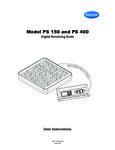 Brecknell PS400 Manual