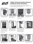 Purell CS6 Instructions