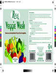 Regal Veggie Wash Label
