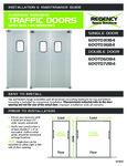 Regency Traffic Door Installation Instructions
