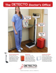 Sell Sheet for Cardinal Detecto 439 Eye-Level Physician Scale