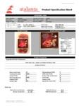 Don Juan Thin Sliced Dry-Cured Jamon Serrano Nutrition Information