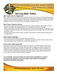 Beer Tubes Serving Guidelines