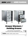 ServIt Drawer Warmers Manual