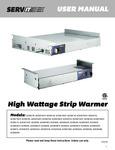 Servit Stripwarmer