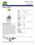 Seventh Generation 32 oz. Professional Wood Cleaner Label
