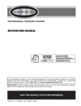 Simpson Super Pro Pressure Washer Manual