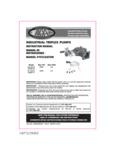 Simpson90036,37TriplexPumpVertical Manual