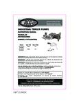 Simpson90038,39TriplexPumpKit Manual