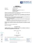 Sorbos Biodegradable Certification