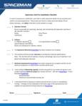 Spaceman_Pre-installation Checklist