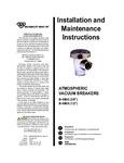 T&S B-0968, B-0969 Manual
