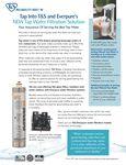 Tap Water Filtration Sales Sheet
