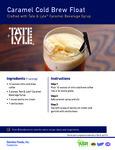 Tate & Lyle Caramel Cold Brew Float Recipe