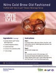 Tate & Lyle Nitro Cold Brew Old Fashioned Recipe