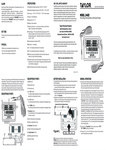 Taylor 1442 Critical Care Digital Thermometer Manual