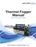 Vectorfog Thermal Foggers 830H100,150,200 Manual