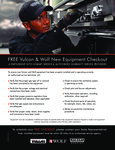 Vulcan Free Equipment Check Out