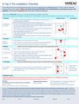 Pre Installation Checklist Vi2 Vivreau