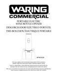 Waring 929WWO120 Manual