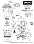 BB185, BB185S, NDG185 Parts Diagram (Former Versions)