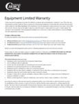 5080 Warranty