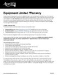Avantco Flexible Heat Lamps - Carving Stations Warranty