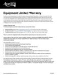 Avantco Warranty