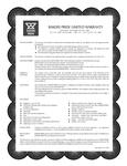 Bakers Pride's Warranty Information