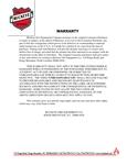 Buckeye Fire Equipment's Warranty Information