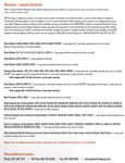 Globe's Warranty Information