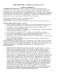 Hubbell Model JSK and JFR Warranty