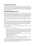 Inoksan Return and Warranty Policy (1)