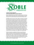 Noble Warewashing Warranty