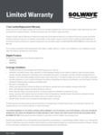 Solwave-Warranty-Parts&Labor