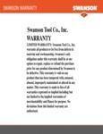 Swanson Warranty