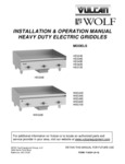 Wolf WEG Series Manual