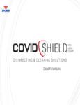 XPOWER 800XCS1 COVID SHIELD MANUAL