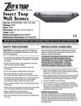 Zap N Tray Instruction Sheet