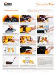 Zumex Versatile Pro Cleaning Instructions