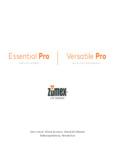 Zumex Versatile Pro Manual
