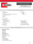 Cleveland 00934 (Rectorseal No. 5) SDS